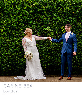 London wedding photographer Carine Bea