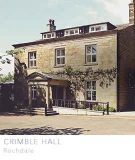 Crimble Hall wedding venue