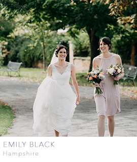 Hampshire wedding photographer Emily Black