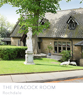 The Peacock Room Rochdale wedding venues