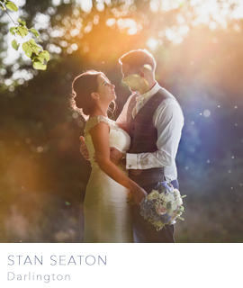 Darlington wedding photographers Stan Seaton