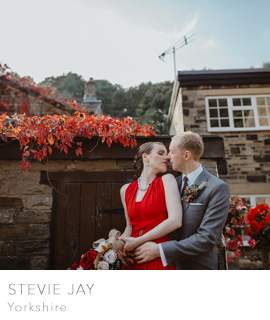 Yorkshire wedding photographer Stevie Jay