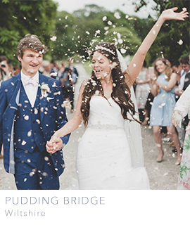 wiltshire and bristol wedding planners Pudding Bridge
