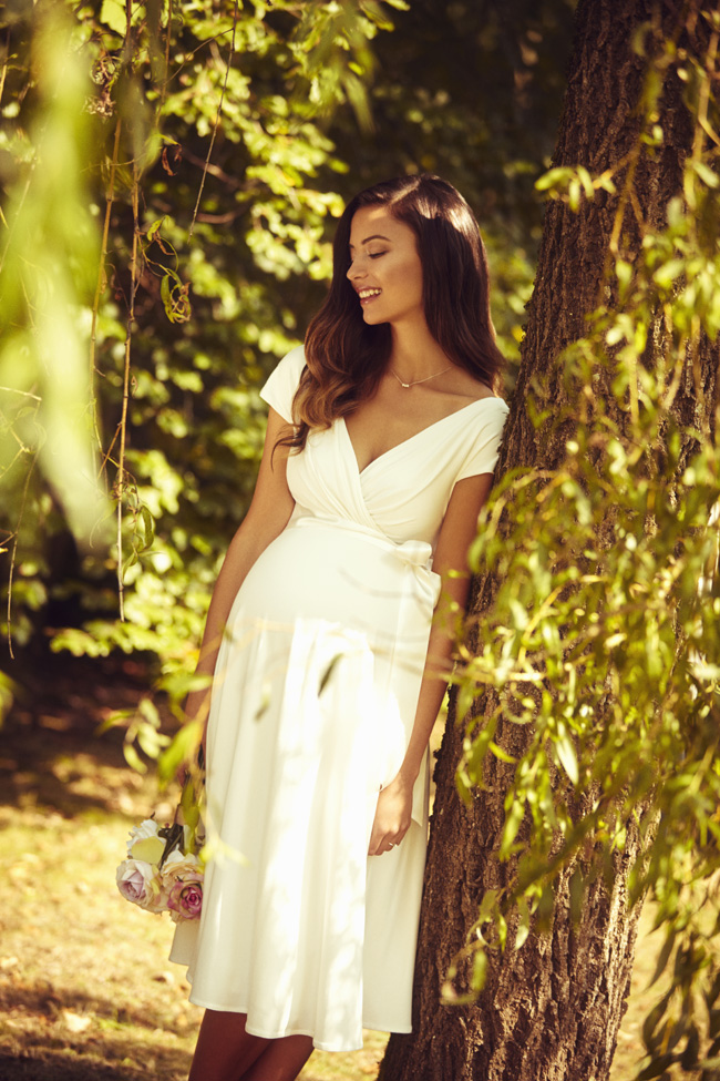 Beautifully designed maternity wedding gowns made in Britain by Tiffany Rose (15)