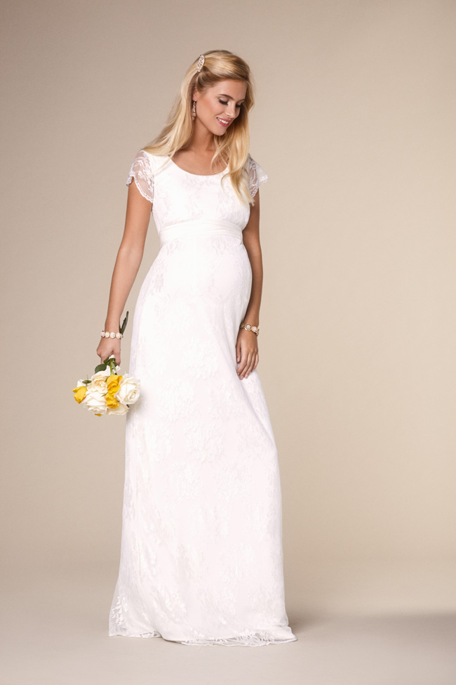 157cc0548812 Beautifully designed maternity wedding gowns made in Britain by Tiffany Rose  (12)