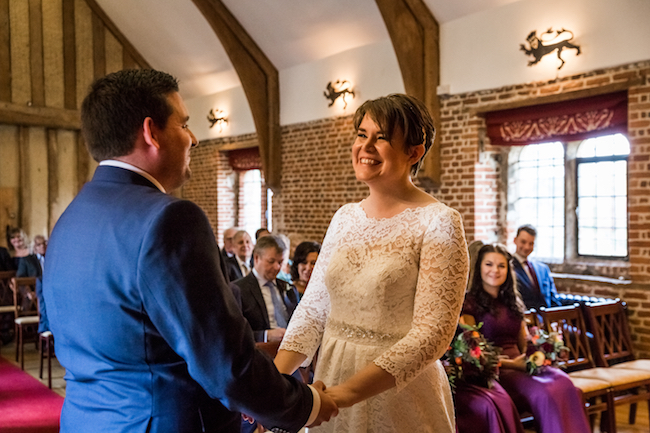 Layer Marney Tower wedding with a gorgeous short haired bride, images by Ayshea Goldberg Photography (12)