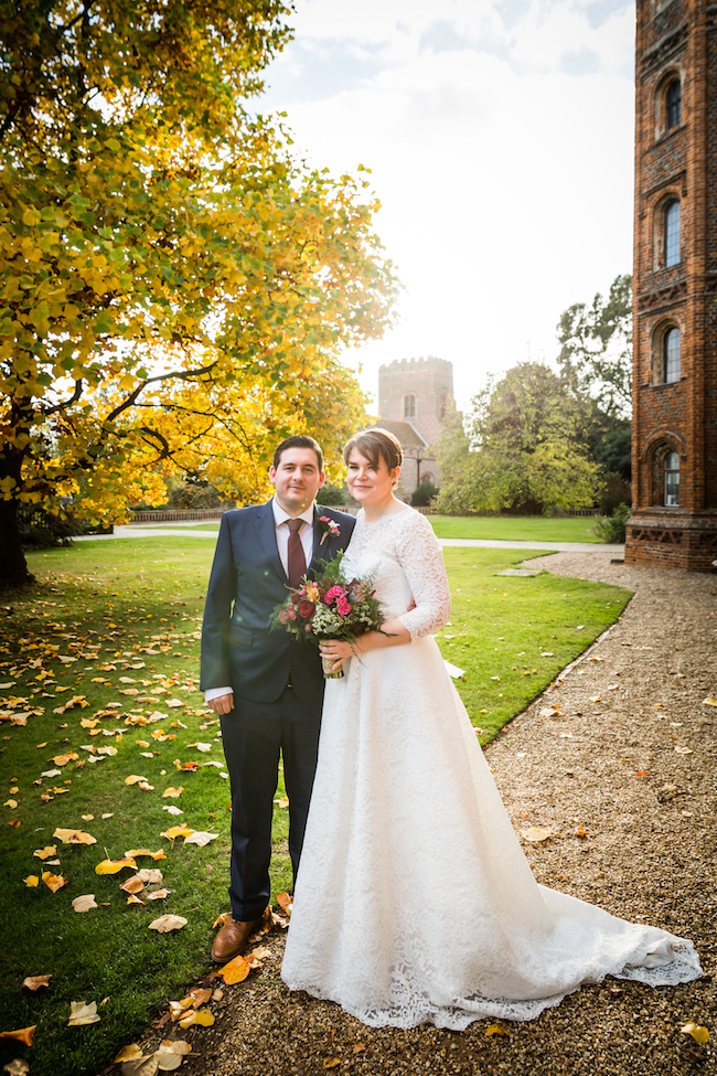 Layer Marney Tower wedding with a gorgeous short haired bride, images by Ayshea Goldberg Photography (14)