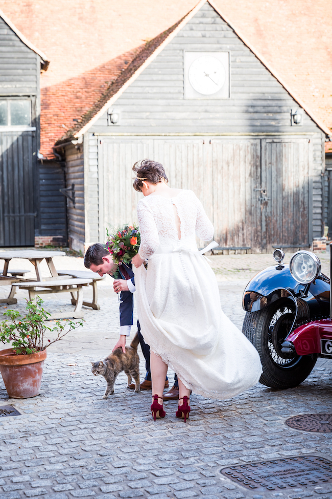 Layer Marney Tower wedding with a gorgeous short haired bride, images by Ayshea Goldberg Photography (17)