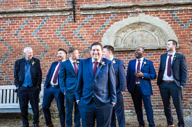 Layer Marney Tower wedding with a gorgeous short haired bride, images by Ayshea Goldberg Photography (22)