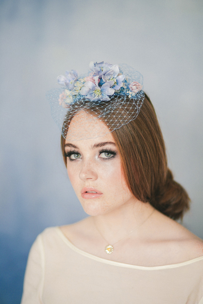 Paper magnolias, calligraphy and dusky blue ethereal beauty - bridal inspo by Jess Petrie Photography (6)