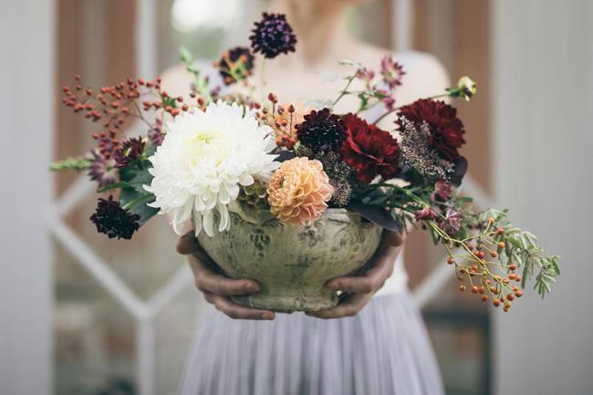 Fabulously creative wedding flowers in the Lake District by Made in Flowers. Image credit Vickerstaff Photography (2)