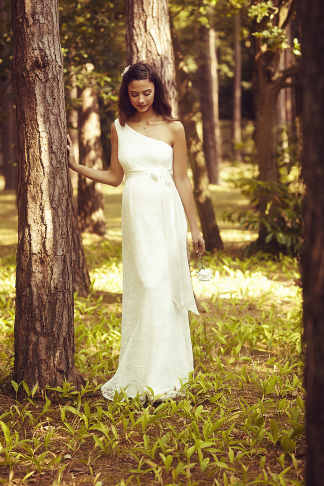 Beautifully designed maternity wedding gowns made in Britain by Tiffany Rose (10)