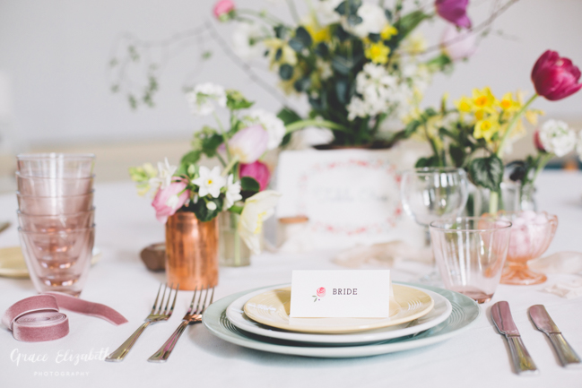 Bright ideas for a spring wedding with whimsical stationery by Dearly Beloved (26)