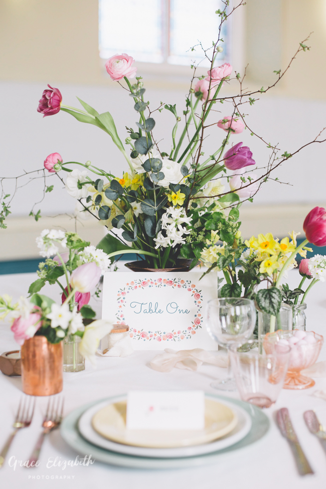 Bright ideas for a spring wedding with whimsical stationery by Dearly Beloved (25)