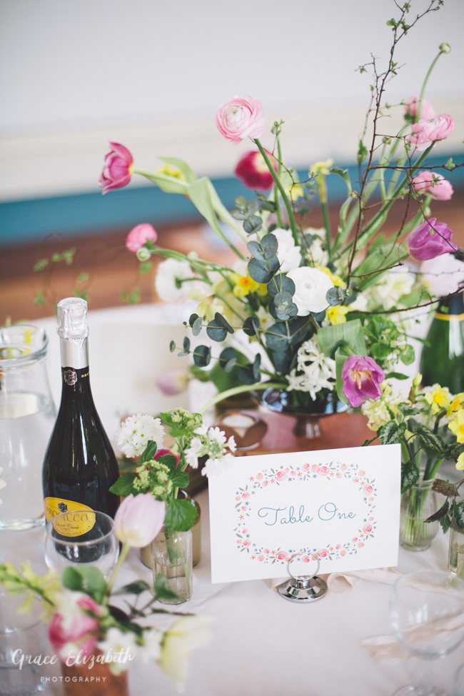 Bright ideas for a spring wedding with whimsical stationery by Dearly Beloved (17)