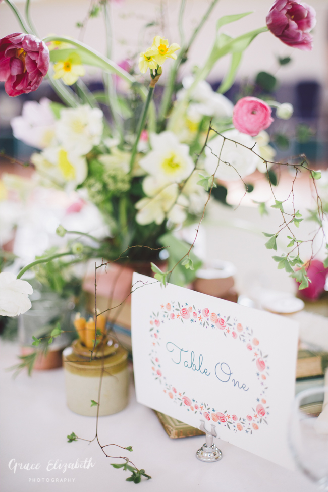 Bright ideas for a spring wedding with whimsical stationery by Dearly Beloved (16)