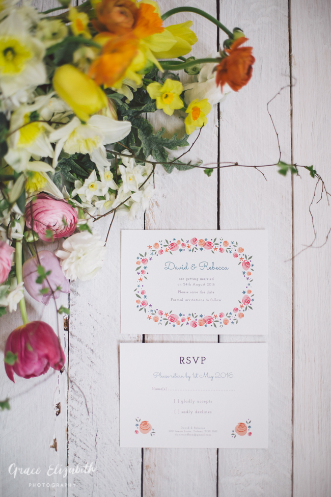 Bright ideas for a spring wedding with whimsical stationery by Dearly Beloved (14)