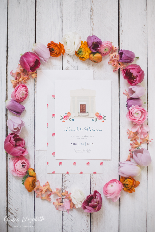 Bright ideas for a spring wedding with whimsical stationery by Dearly Beloved (7)