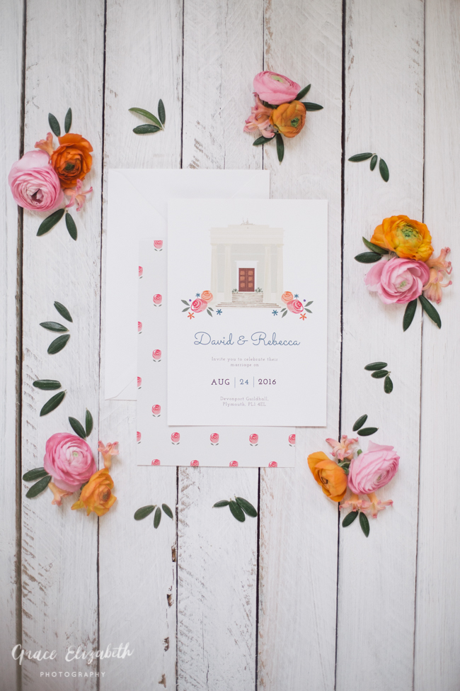 Bright ideas for a spring wedding with whimsical stationery by Dearly Beloved (6)