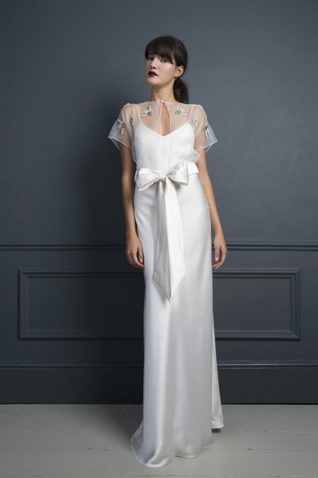 Inspired by the New York club scene of the 1970s... Halfpenny London's Standing on Stardust 2017 wedding dresses (6)