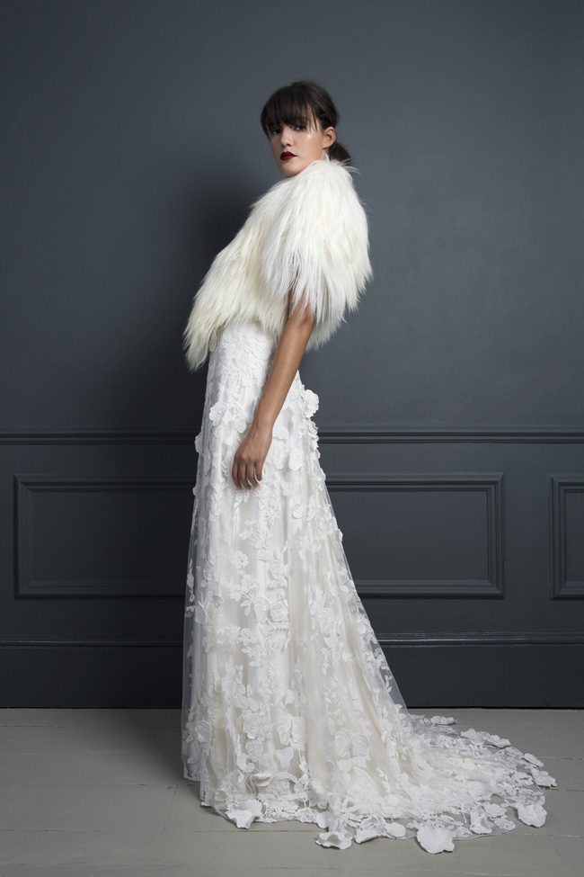 Inspired by the New York club scene of the 1970s... Halfpenny London's Standing on Stardust 2017 wedding dresses (11)