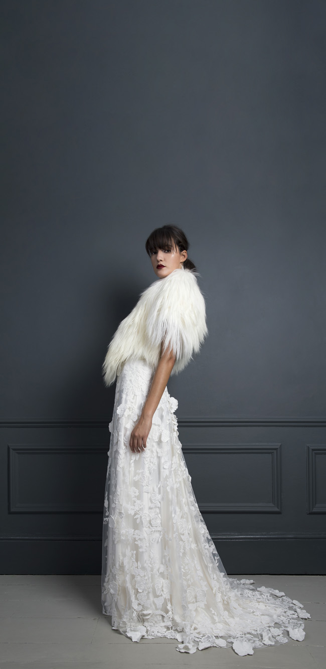 Inspired by the New York club scene of the 1970s... Halfpenny London's Standing on Stardust 2017 wedding dresses (14)