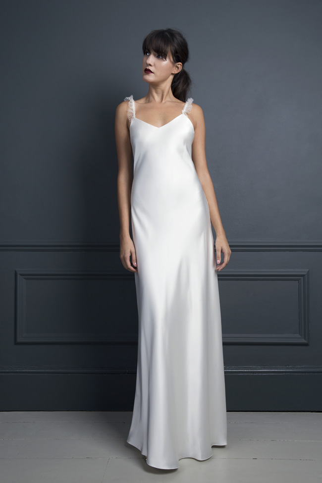 Inspired by the New York club scene of the 1970s... Halfpenny London's Standing on Stardust 2017 wedding dresses (15)