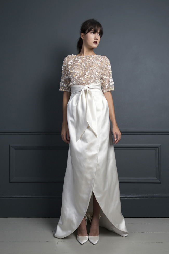 Inspired by the New York club scene of the 1970s... Halfpenny London's Standing on Stardust 2017 wedding dresses (16)