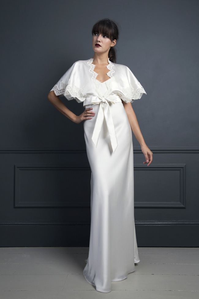 Inspired by the New York club scene of the 1970s... Halfpenny London's Standing on Stardust 2017 wedding dresses (23)