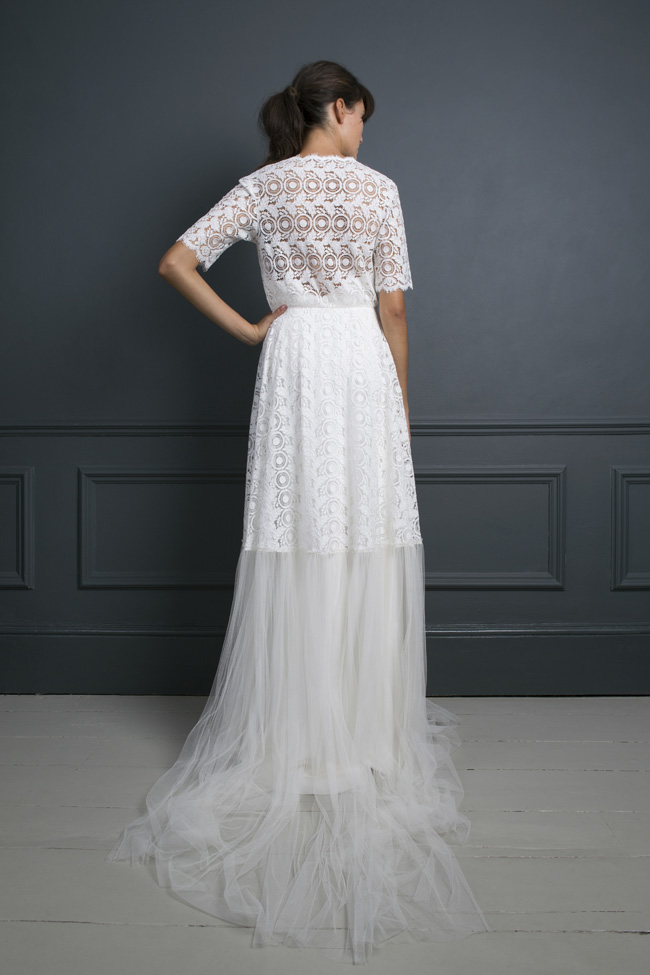 Inspired by the New York club scene of the 1970s... Halfpenny London's Standing on Stardust 2017 wedding dresses (36)