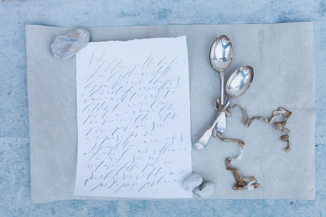 Beautiful calligraphy in a modern style photographed in Venice by Amanda Karen Photography (6)