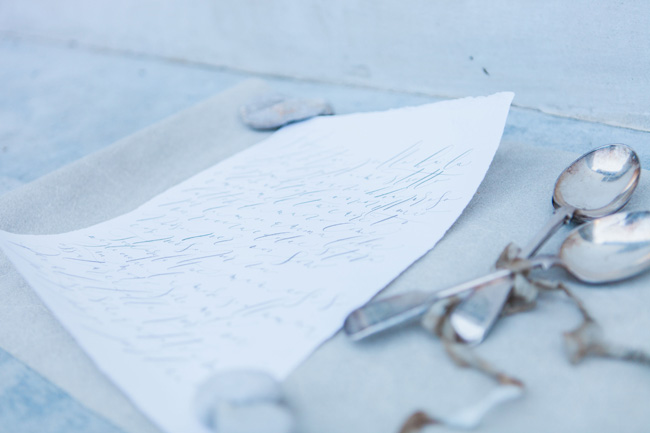 Beautiful calligraphy in a modern style photographed in Venice by Amanda Karen Photography (3)