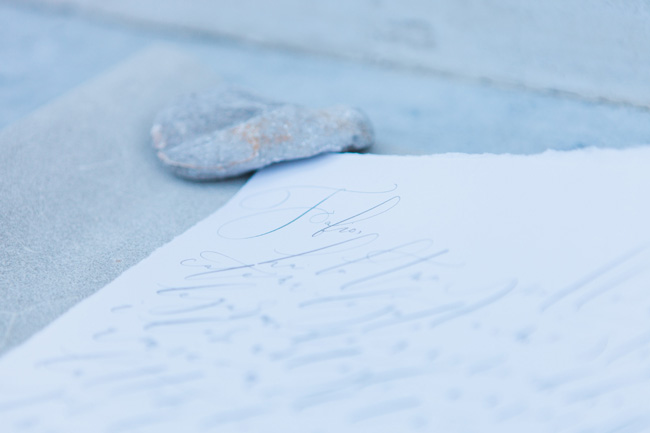 Beautiful calligraphy in a modern style photographed in Venice by Amanda Karen Photography (2)