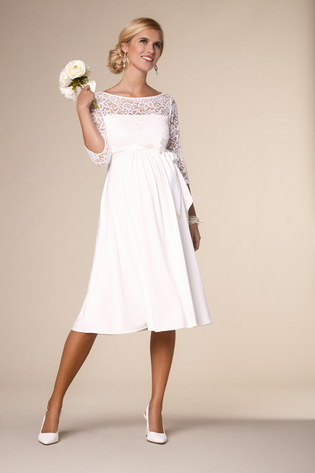 4e996ef45c Beautifully designed maternity wedding gowns made in Britain by Tiffany  Rose (9)