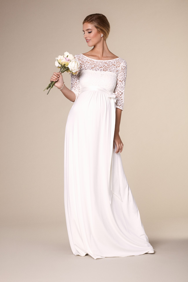 c6d315795acbf Beautifully designed maternity wedding gowns made in Britain by Tiffany Rose  (8)