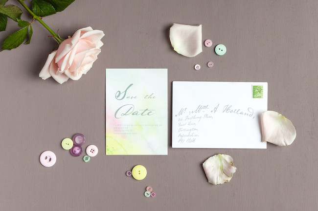 sweet and simple fonts with feminine watercolour touches - invitations by The Little Blue Brush (11)
