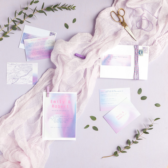 sweet and simple fonts with feminine watercolour touches - invitations by The Little Blue Brush (6)