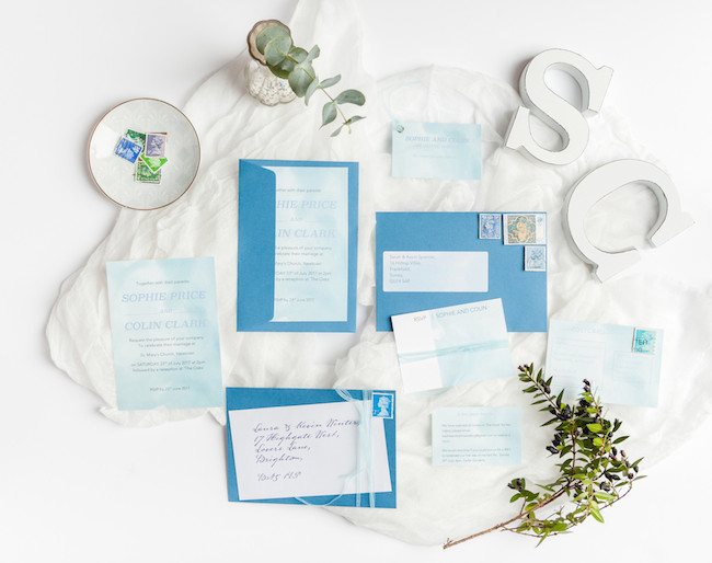 sweet and simple fonts with feminine watercolour touches - invitations by The Little Blue Brush (3)