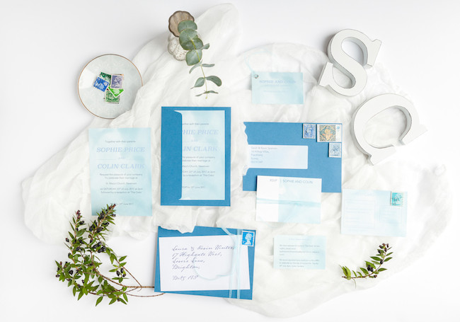 sweet and simple fonts with feminine watercolour touches - invitations by The Little Blue Brush (2)