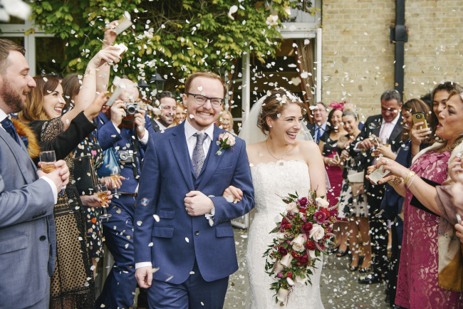 Gorgeous statement bouquet and winter styling for a Beaumont Estate wedding with Rose Images (6)