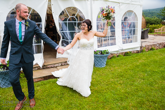 Individual, fun and full of colour and personality - a real wedding at Nyland Manor (16)