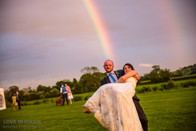 Individual, fun and full of colour and personality - a real wedding at Nyland Manor (33)