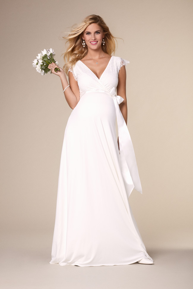 e75004a9af595 Beautifully designed maternity wedding gowns made in Britain by Tiffany Rose  (4)