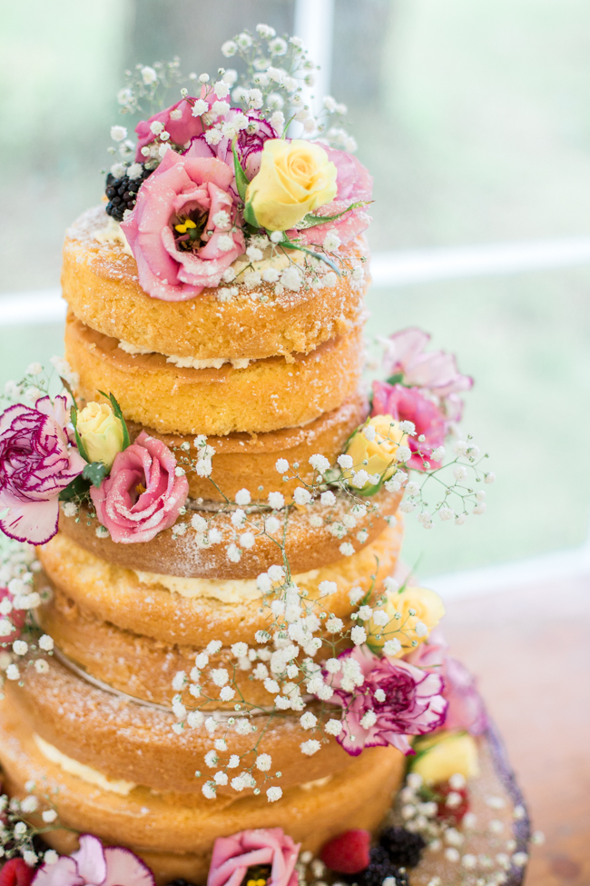 Bright and bold daisy wedding bouquet with tons of colour and afternoon tea - Sophie Evans Photography (14)