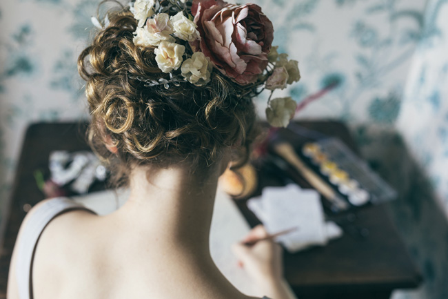 A beautiful natural look for an artisan bride - photoshoot with Stefanie Grisdale mua and Vickerstaff Photography (7)