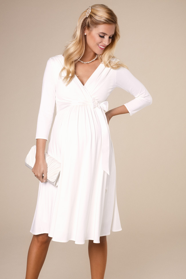f516967e30b1 Beautifully designed maternity wedding gowns made in Britain by Tiffany  Rose (2)
