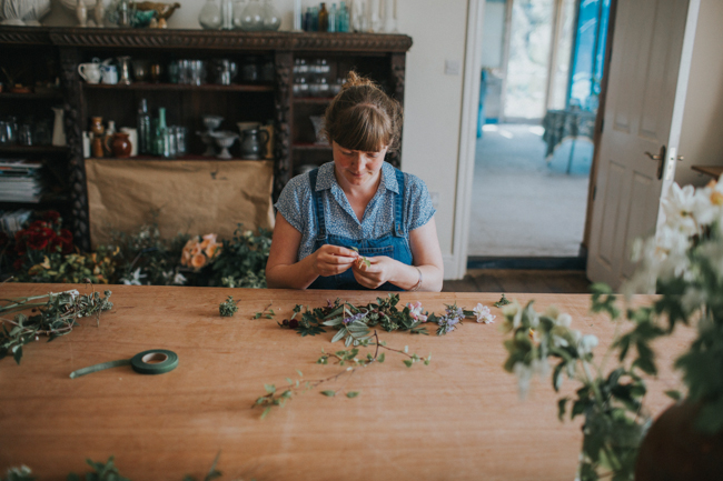 Wonderfully creative Wild Bunch flower workshops, image Lisa Webb Photography (12)