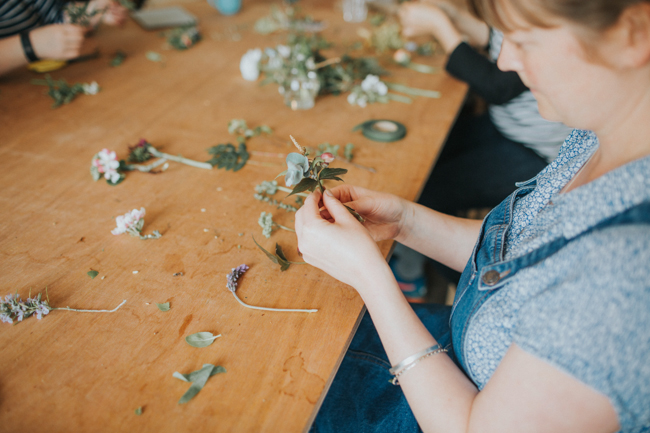 Wonderfully creative Wild Bunch flower workshops, image Lisa Webb Photography (13)