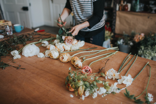 Wonderfully creative Wild Bunch flower workshops, image Lisa Webb Photography (22)