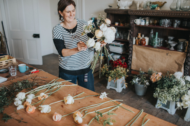 Wonderfully creative Wild Bunch flower workshops, image Lisa Webb Photography (23)
